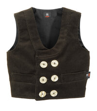 DAVID 20116 CHILDREN'S TWISTING FINE CORDUROY GUILD VEST