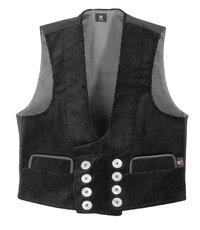 FRITZ 60616 TRENKER CORDUROY THREE-WIRE REAL LEATHER GUILD VEST